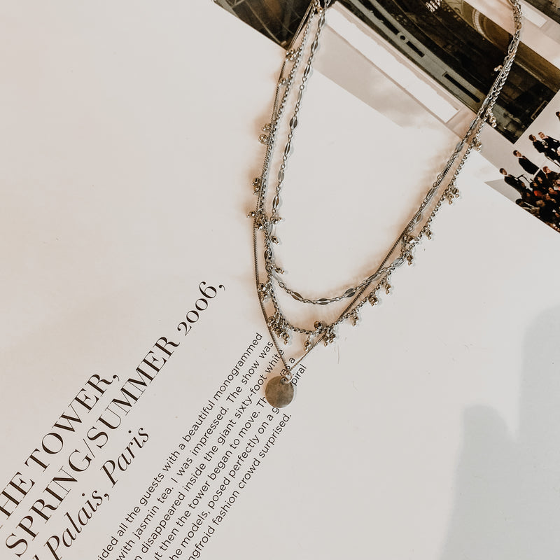 Chan Luu Pyrite Pre-Layered Necklace