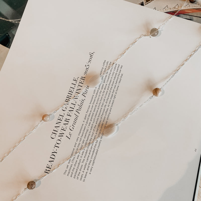 Chan Luu Botswana Agate Mix Necklace