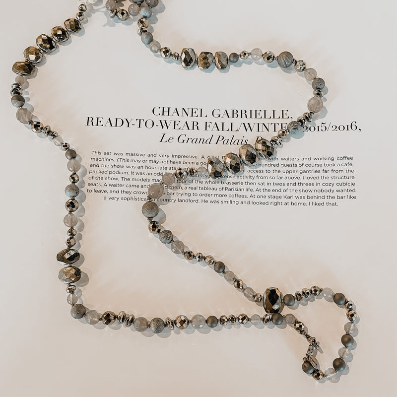 Chan Luu Silver Agate Mix Necklace