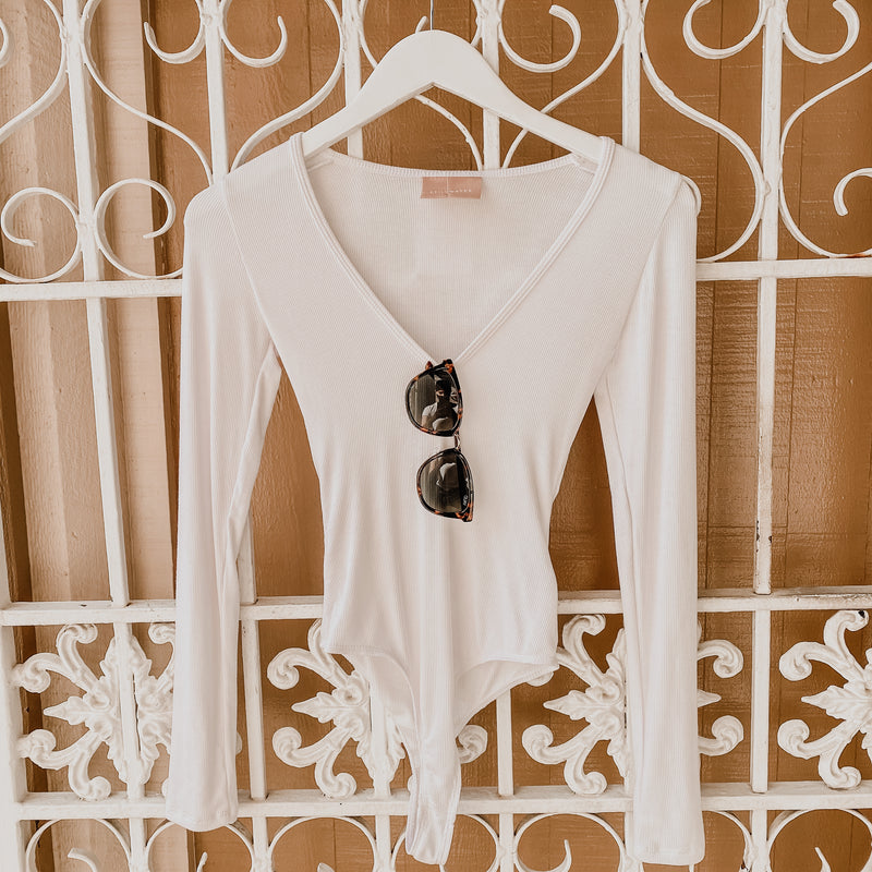 Stillwater the V-Neck Bodysuit