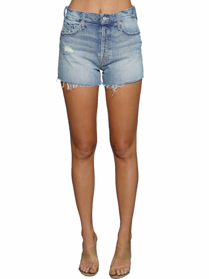 Mother Denim Tomcat Kick Fray Short