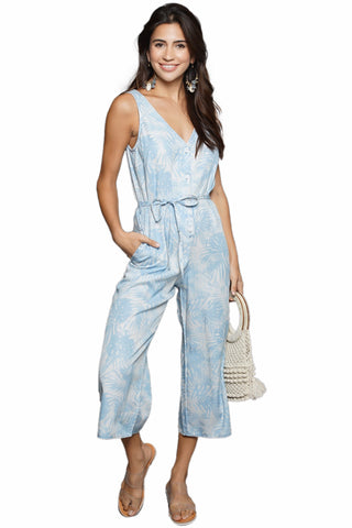 Laura Siegel Sleeveless Jumpsuit