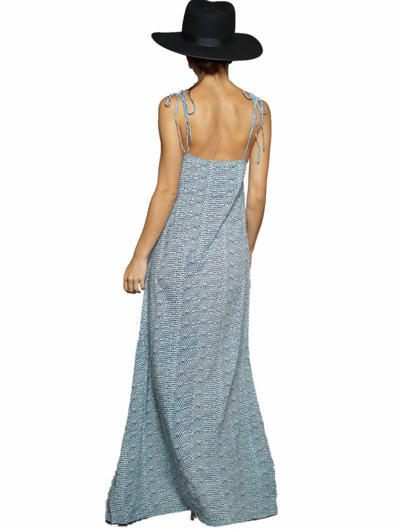 Aila Blue Belize Dress
