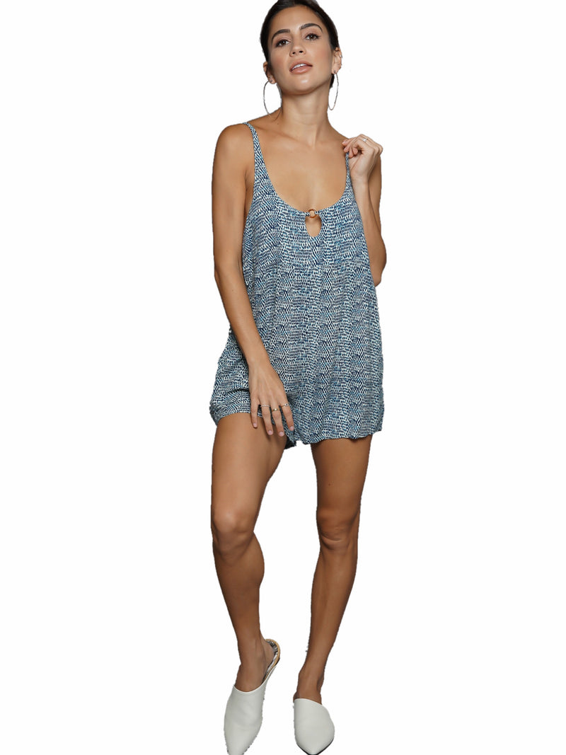 Aila Blue Romeo Playsuit