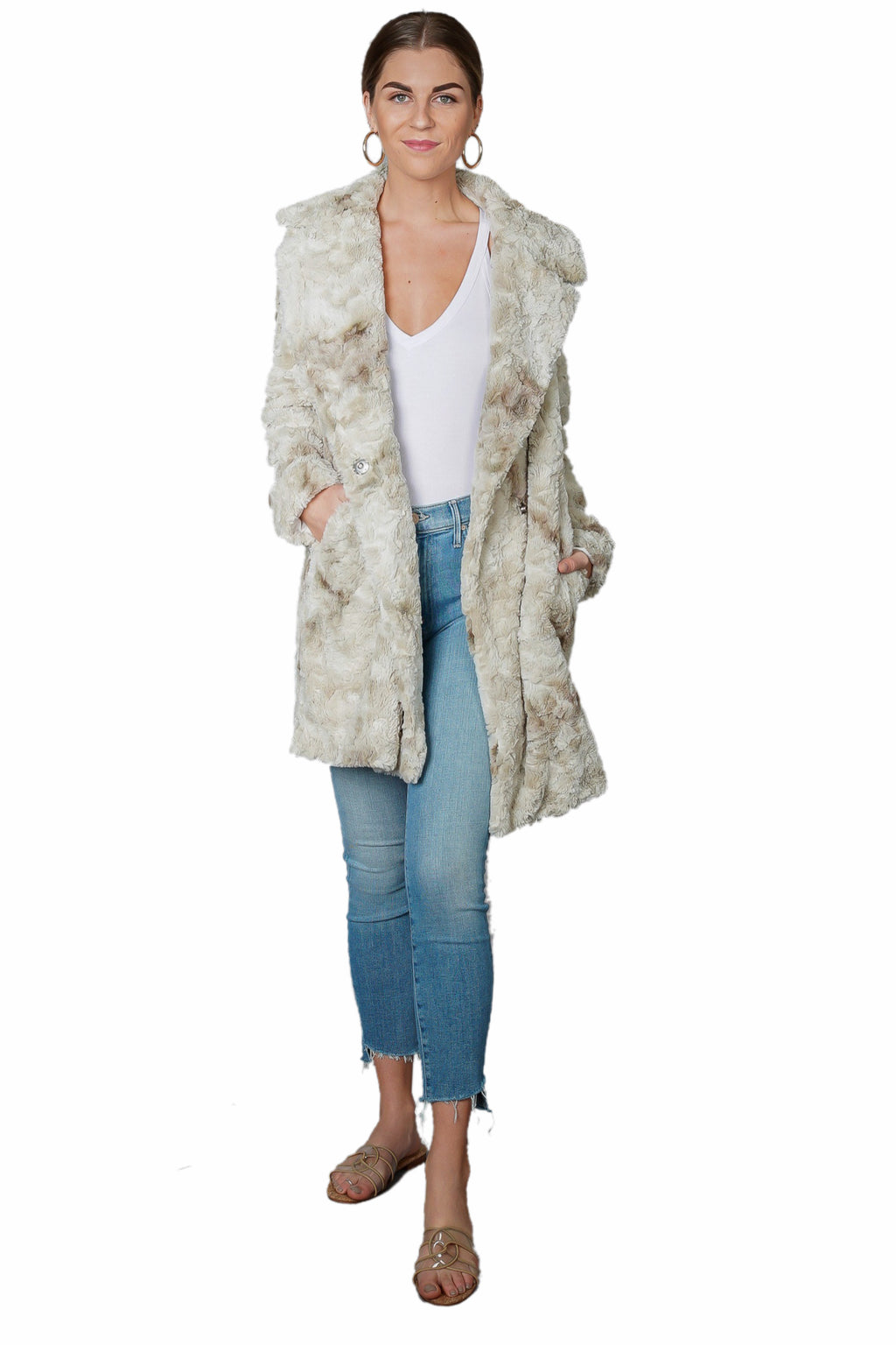Fifteen Twenty Faux Fur Coat