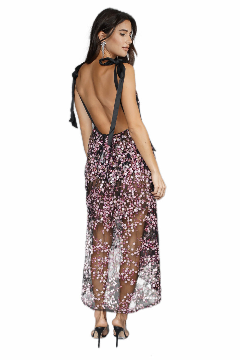 For Love & Lemons Gibson Midi Dress