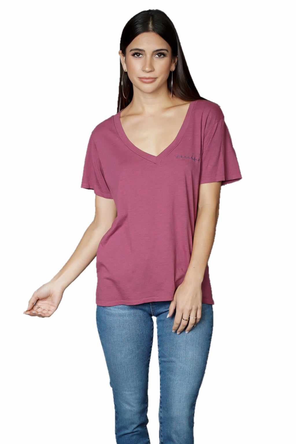 gOOd hYOUman Aiden V-Neck