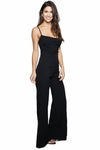 Bella Dahl Button Front Crop Leg Jumpsuit