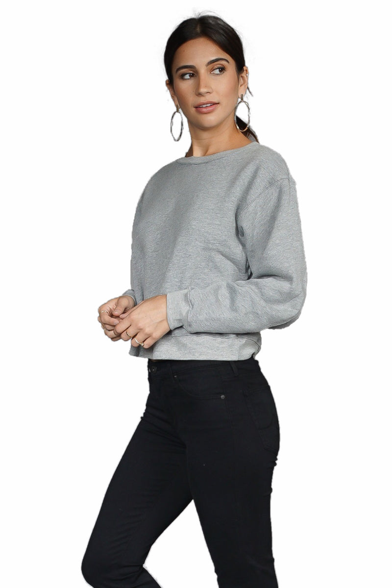 Maison Du Soir Fleece Sweatshirt