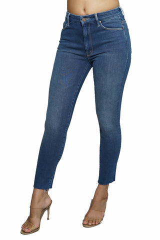 Mother Denim The Rascal Crop Fray