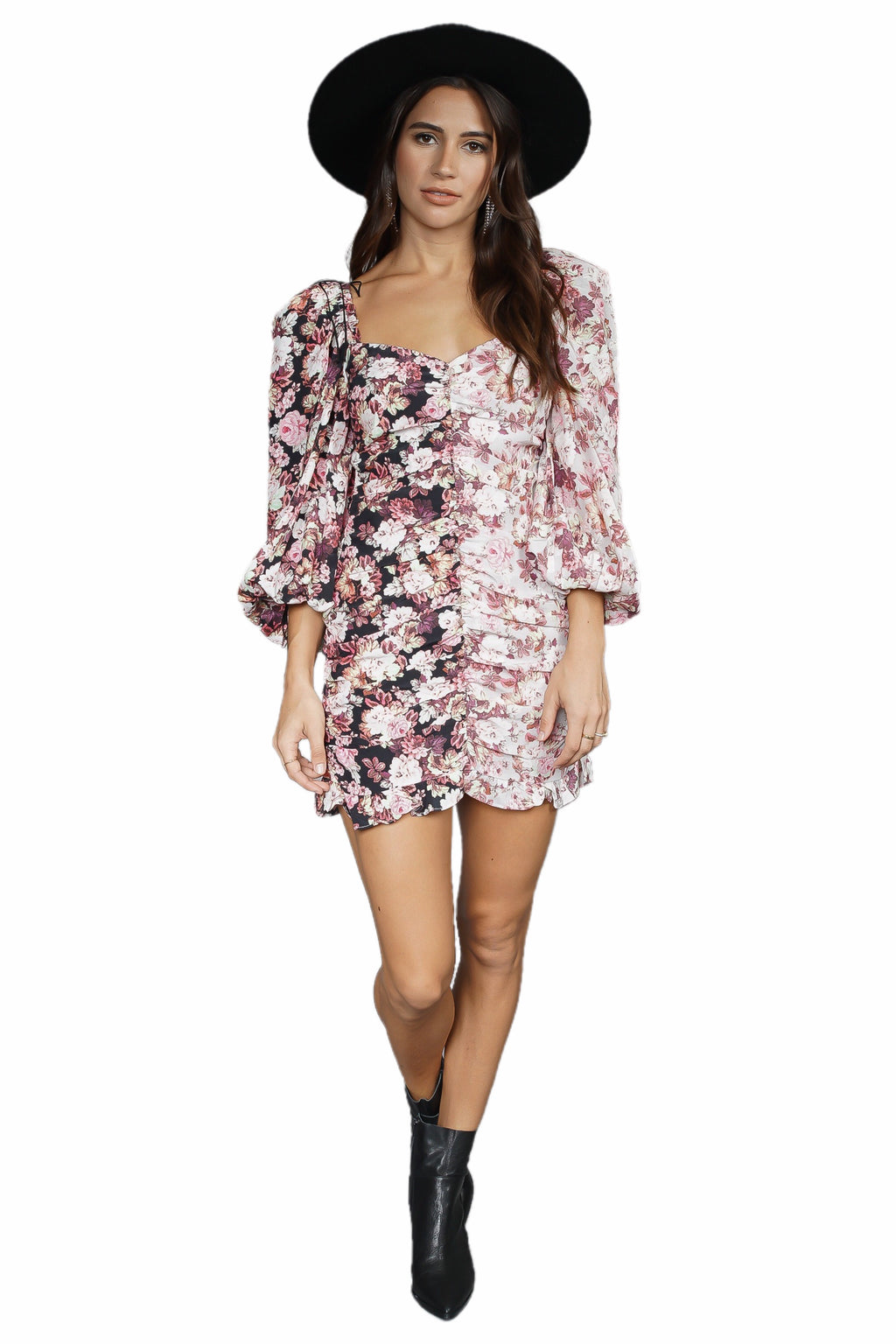 For Love & Lemons Houston Mini Dress