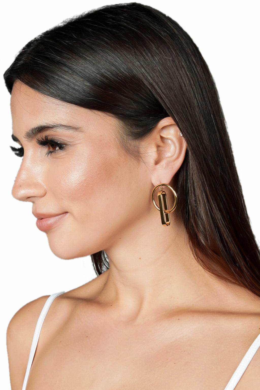 Jenny Bird Harley Hoops Earrings (Gold)