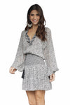 Laura Siegel Long Sleeve Dress
