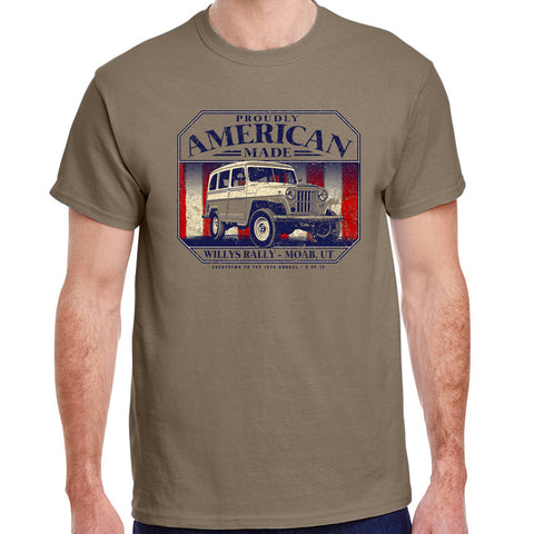 "Willys Rally ""American Made"" T-shirt"