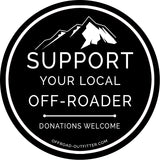 Support your Local Off-roader Decal