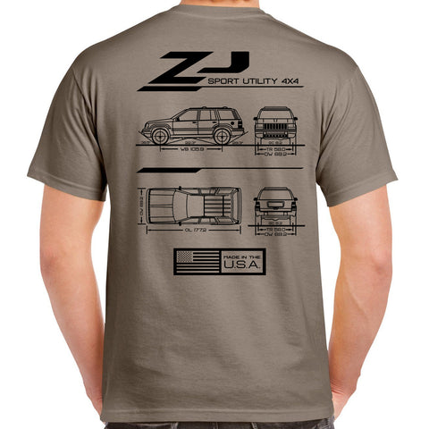 ZJ Blueprint T-Shirt