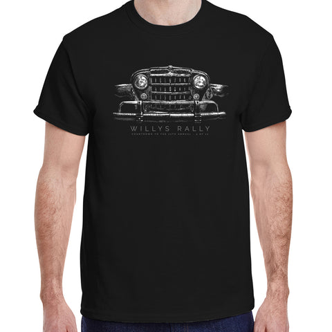 Willys Rally Grill T-shirt