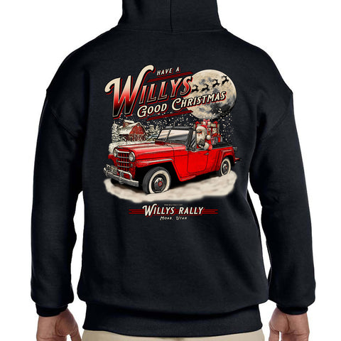 Willys Rally Christmas Hoodie