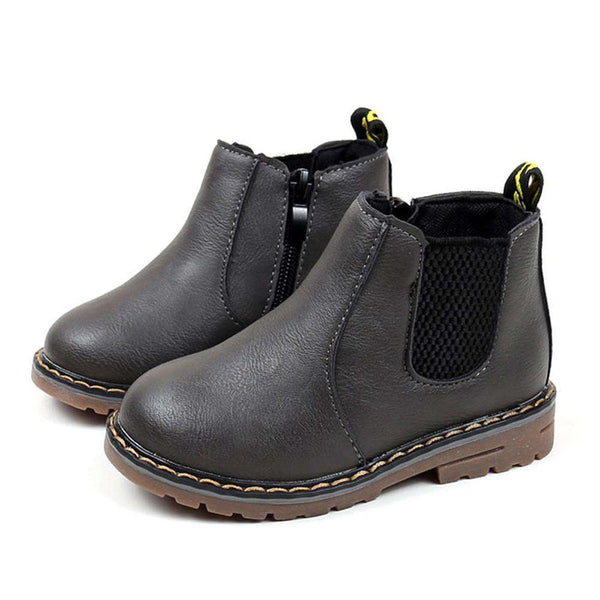 2017 Boys Girls Boots Kids Shoes Sneakers Winter Children Boys Girls Martin Boots Handmade Leather Boots Baby Boys Girls Shoes Shopping Bags & Shoes Online