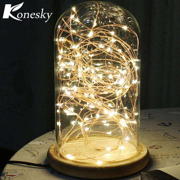 5m 50 LED Copper Wire String Light with Bottle Stopper for Glass Craft Bottle Fairy Valentines Wedding Decoration Lamp Party Shopping Lights & Lighting Online