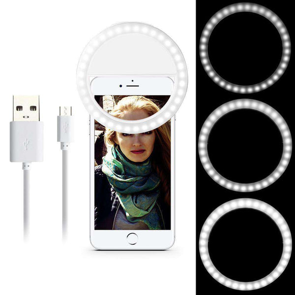 Selfie Portable Flash Led  Night Light Camera Phone Photography Ring Light Enhancing Photography for iPhone Samsung Shopping Lights & Lighting Online