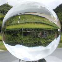 Crystal Ball Photography Prop Meditation Ball Contact Juggling Glass Sphere Display