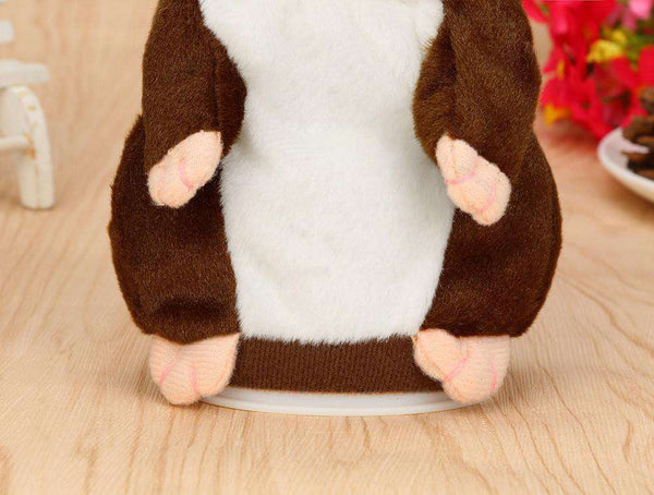 Adorable Interesting Speak Talking Record Hamster Mouse Plush Kids Toys