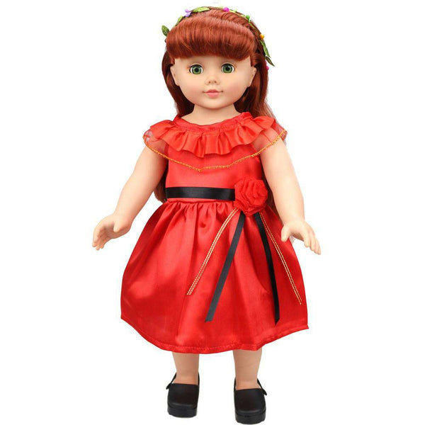 Lovely Princess Dress Up Costume For 18 inch Our Generation American Girl Doll Shopping Toys Hobbies and Robot Online