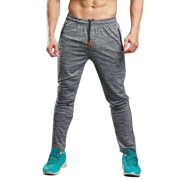Men Long Casual Sports Pants Gym Slim Fit Trousers Running Jogger Gym Sweatpants Shopping Clothing and Apparel Online