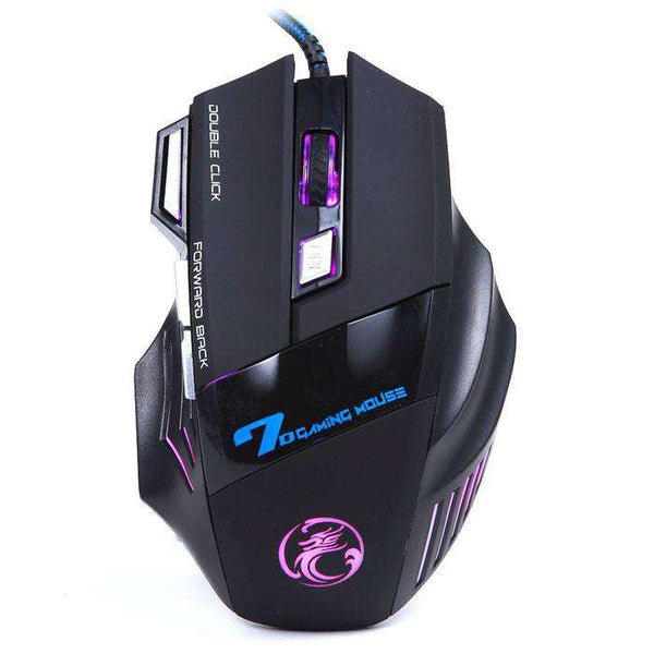 3200DPI LED Optical 7D USB Wired Gaming Game Mouse For PC Laptop Game Shopping Computer & Networking Online