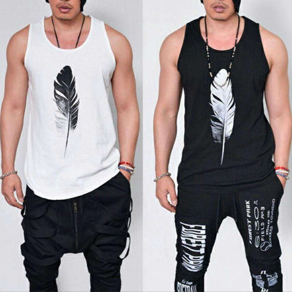 Gym Men Muscle Sleeveless Tee Shirt Tank Top Bodybuilding Sport Fitness Vest Shopping Clothing and Apparel Online