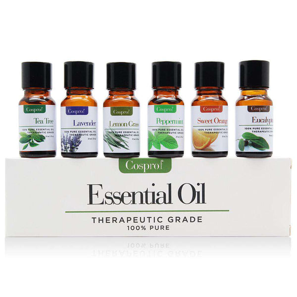 100% PURE & NATURAL ESSENTIAL OILS 6 in 1 Gift Kit Certified 10ML FREE SHIPPING Shopping Health & Beauty Online