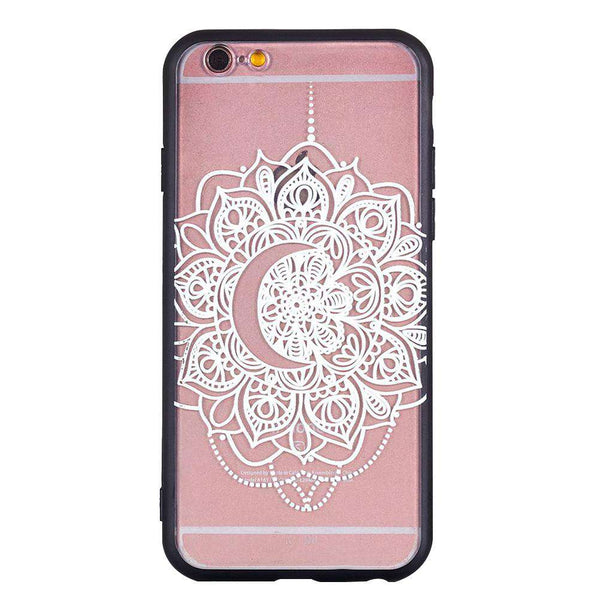 Lace Phone Case Soft TPU Bumper Case Embossment Varnish Design Scratch Resistant Phone Case for iPhone Shopping Mobile Phones & Accessories Online