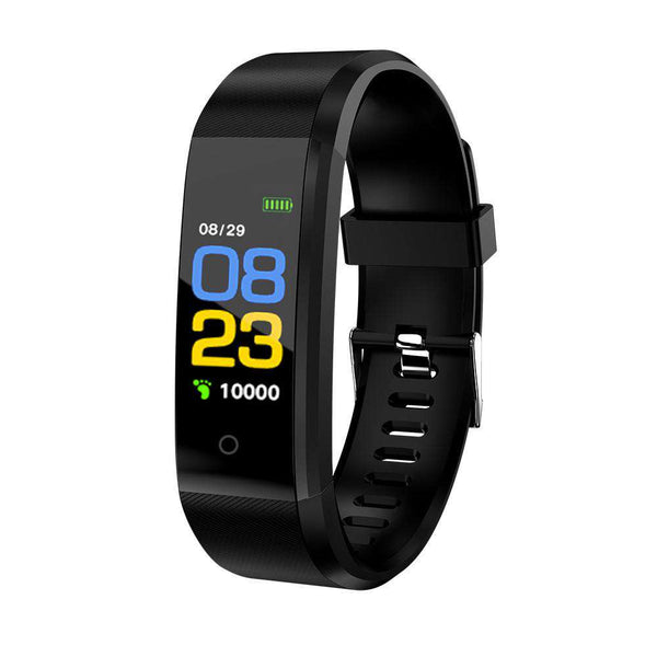 Smart Bracelet Fitness Tracker 0.96in TFT Display Screen Heart Rate Monitor Sleep Monitoring Call Reminder Smart Band Sport Pedometer Wristband Watch for Android IOS Shopping Sports & Outdoor Online