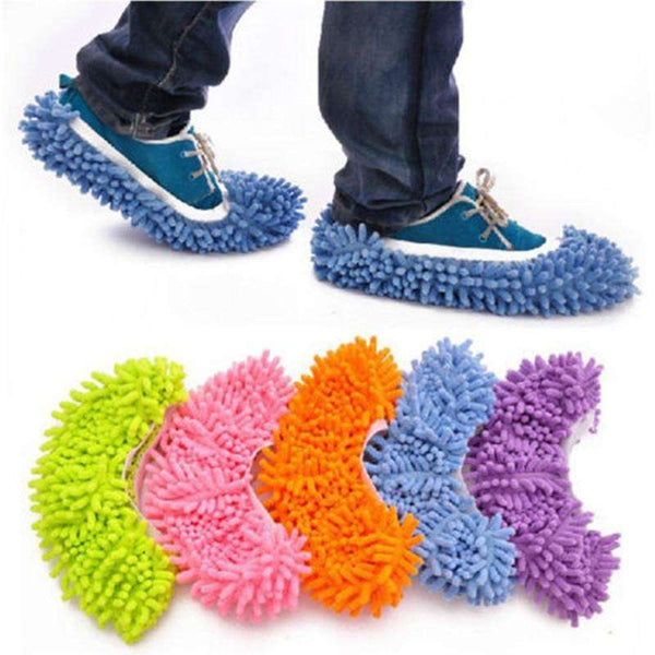 The chenille shoes the lazy man cleans the floor mop mop top.Assorted Mop Slippers Shopping Bags & Shoes Online