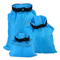 WINOMO 3pcs 1.5L+2.5L+3.5L Waterproof Dry Bag Storage Pouch Bag for Camping Boating Kayaking Rafting Fishing