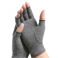 Women Men Cotton Elastic Hand Arthritis Joint Pain Relief Gloves Therapy Open Fingers Compression Gloves