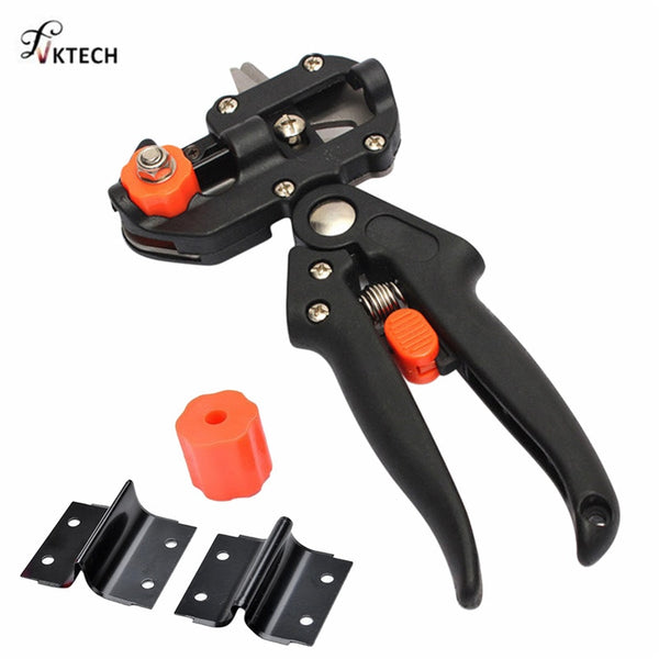 Garden Tools Grafting Pruner Chopper Vaccination Cutting Tree Gardening Tools with 2 Blade Plant Shears Scissors Dropshipping