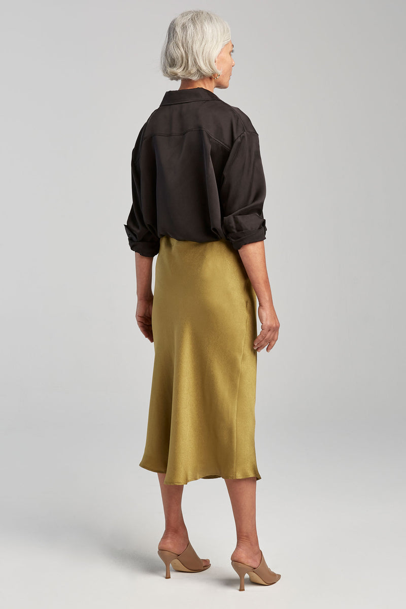 BIAS CUT SKIRT GINKO JACQUARD