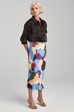 BIAS CUT SKIRT WARHOL
