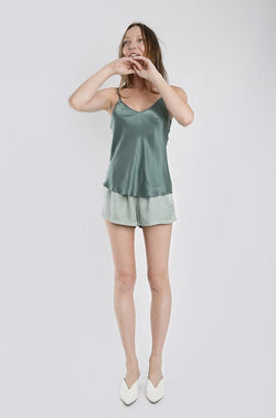 BIAS CUT CAMI SEA