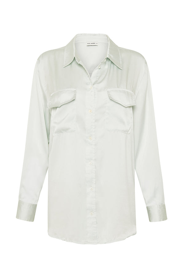 BOYFRIEND SHIRT MINT