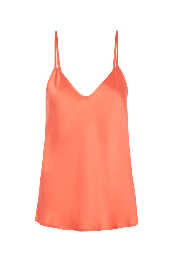 BIAS CUT CAMI CORAL