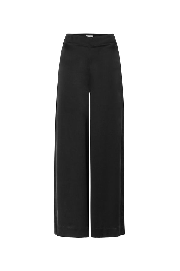 TAILORED PANTS WITH ZIP BLACK