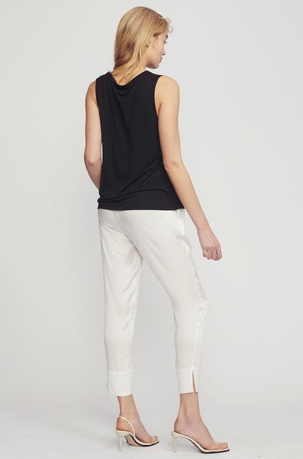 DRAWSTRING PANTS WHITE