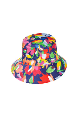 BUCKET HAT - AQUARELLE/WHITE JACQUARD