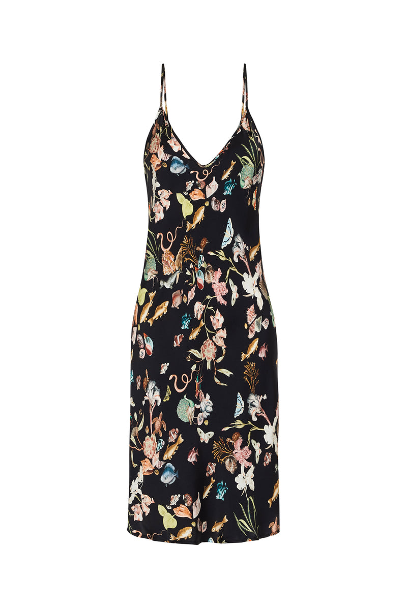 SHORT 90S SILK SLIP DRESS ANAMALIA