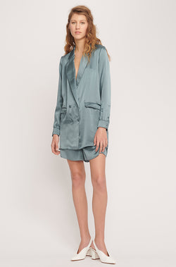 RELAXED BLAZER PACIFIC BLUE