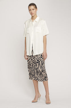 BIAS CUT SKIRT MATISSE