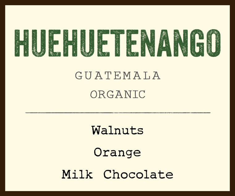 Huehuetenango coffee
